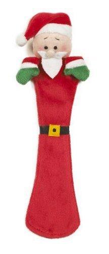 Ganz Page Pal - Holiday Santa Plush Bookmark - Ganz Holiday Page Pals Bookmark by Ganz