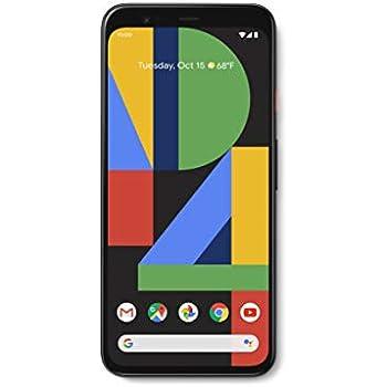Amazoncom Google Pixel 4 Just Black 64gb Unlocked