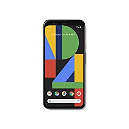 Google GA01187-US Pixel 4 – Just Black – 64GB – Unlocked