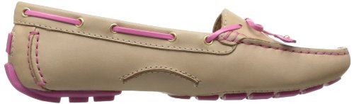 Clarks Womens Dunbar Racer Boat Shoe Nude