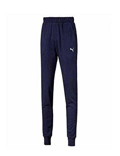 Puma Ess Sweat Pants Slim Pantalone Uomo 838380 06 Peacot - Taglia L