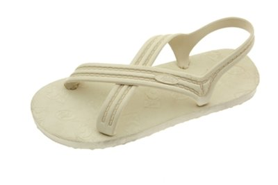 Flojos 101 Sandals,Ivory,10 Women/9 Men