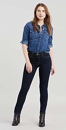 Levi's Kadın 712 Slim Skinny Kot Pantolon, Koyu İndigo 38, 27