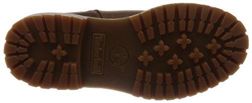 Timberland Nellie Biker WP Boot - Botas estilo motero de cuero mujer marrón - marrón
