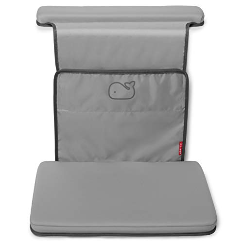 Skip Hop Moby Baby Bath Elbow Saver and Kneeler, Grey