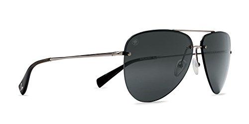 Kaenon Adult Mather Polarized Sunglasses, Gunmetal/Blue Tortoise/Grey 12, One Size Fits All ()