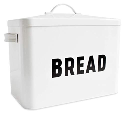 Metal Bread Box Countertop