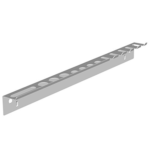 Element System 11411-00002 Holder Strip/for Tool peg-Boards/Perforated Steel Panels/White