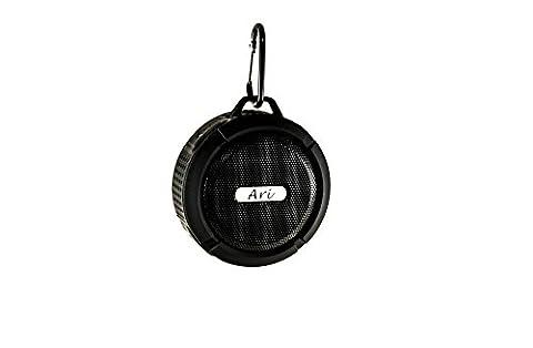 Ari Mini Bluetooth Speakers, Stereo Sound Box C6, Waterproof, Wireless, Shower Speaker, For Indoor and Outdoor Sport - (Aris Speaker)