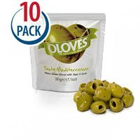 Milas Oloves Tasty Mediterranean -- 1.1 oz Each / Pack of 10