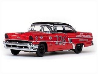 1956 Mercury MontClair Hard Top Russ Truelove Racing Car 1/18 by Sunstar - Montclair Store