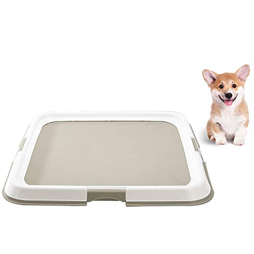 Dogit Puppy Pad Holder Tray, Training Pad Holder for Pee Pads for Dogs (Dog Pee Pad Holder)