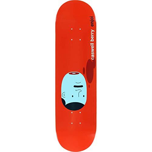サドル学部長食器棚Enjoi Skateboards CaswellベリーエンジョイX Jim HouserスケートボードDeck – 8.25