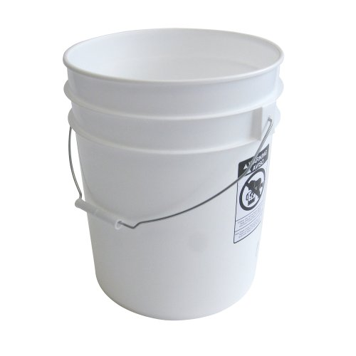 Gallon Heavy Plastic Bucket 10 Pack product image