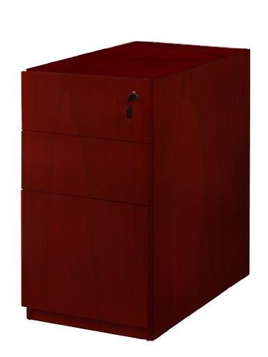 Mayline Luminary Series Pedestal Files Box/Box/File for Desk,