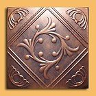 Antique Ceilings Inc – Anet Copper Graphite – Styrofoam Ceiling Tile Package of 10 Tiles