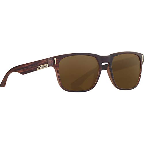 Monarch Matte Dragon One Size Woodgrain~Bronze Sunglasses gqYYwdv