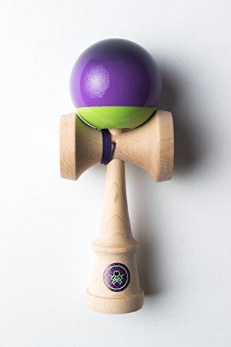 Sweets Kendamas Prime Pro Model Kendama - Sticky Paint, Hardwood Maple, Extra String Accessory Bundle (Matt Sweets Jorgenson) by Sweets Kendamas (Image #2)