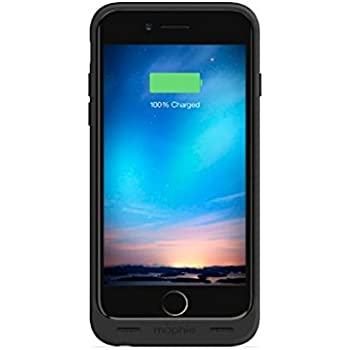 mophie juice pack reserve - Lightweight and Compact Mobile Protective Battery Case for iPhone 6/6s - Black (Certified Refurbished)
