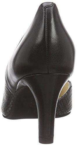 Ecco Calzature Vestito Da Donna Belleair Nero / Oro Antico