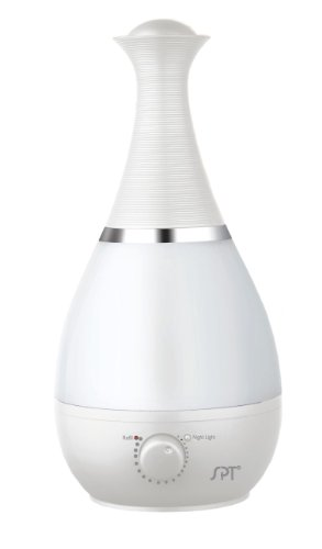 SPT Ultrasonic 0.6 Gal. Cool Mist Humidifier White SU-2550W