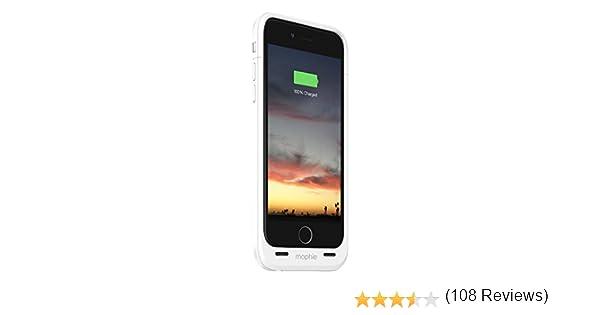 Mophie Juice Pack Air - Carcasa con batería para Apple iPhone 6, 2750 mAh, color blanco: Amazon.es: Electrónica