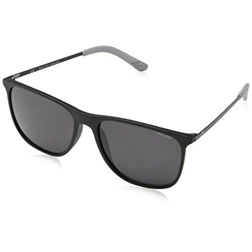 5d9d1cee95 Barato Police Sunglasses Edge 5, Gafas de Sol para Hombre, Negro  (Rubberized Black