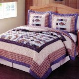 Pem America Swimming Quilt, Queen