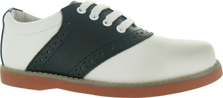 Academie Gear Women's Oxford Saddle Shoes White/Black for sale  Delivered anywhere in USA
