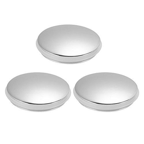 (XCSOURCE 3pcs Bathroom Basin Sink Push Button Drain Stopper 37mm Brass Polished Chrome Pop Up Click Clack Plug for Bath Vanity Sink HS893)
