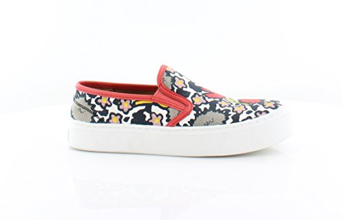 Multi Coral Coach Toe Womens Closed Cameron Loafers Floral n6pHqZ
