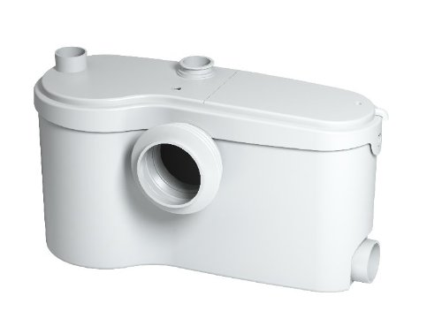 Residential Urinal - Saniflo 013 SANIBEST Grinder Pump, White