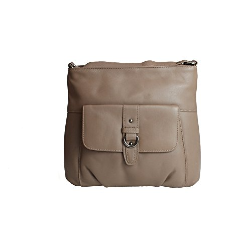 En Leather Cuir Jackie Boucle Counties Avec Femme Sac Eastern Marron tqw5IxHc