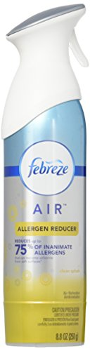 Febreze AIR Freshener, Allergen Reducer Clean Splash, 8.8oz (Pack of 6) - Room Allergen Reducer