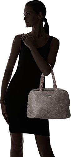 Les Tropéziennes Cha01 - Bolsos bolera Mujer Gris (Grey)