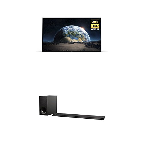 Sony XBR55A1E 55-Inch 4K  and Sony HTCT800