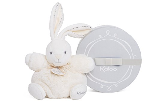 Kaloo Perle Plush Toys, Cream Chubby Rabbit, Small