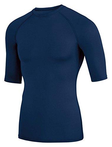 失業者報復シアーAugusta Sportswear Boys ' Hyperform圧縮ハーフスリーブシャツ