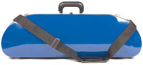 Bobelock 1047fv Blue Fiberglass 4 4 Violin Case With