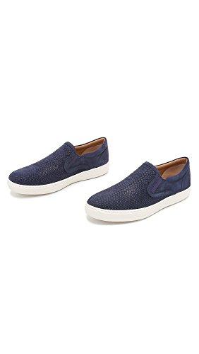 Vince Mens Ase Fashion Sneaker Navy