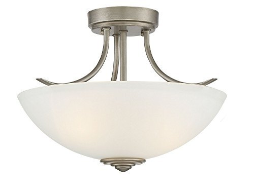 Designers Fountain 96911-MTP Montego Semi-Flush by Designers Fountain - Montego Flush