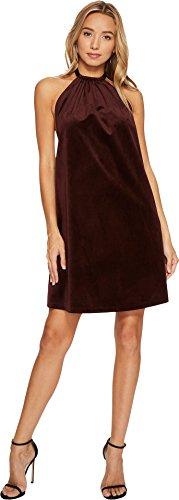 Bishop Style Dress - Bishop & Young Women's Talia Velvet Dress Burgundy Small