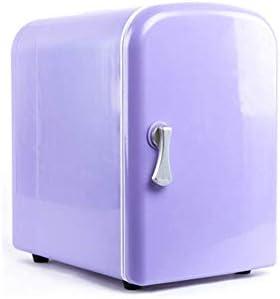 ZWH-ZWH カー冷蔵庫ポータブルCoolbox冷凍庫ミニ冷蔵庫は騒音がない省エネと光のキャンプ旅行コーラビール4L(19.5x16x28cmを)パック 車載用冷蔵庫