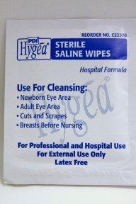 PDI Hygea Saline Sterile Wipe (Box of 24)