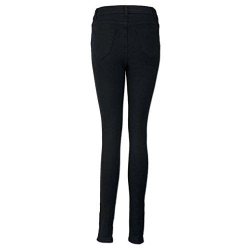 Jeans,WINWINTOM Le Donne Ginocchio Taglio Skinny Jeans Dei Pantaloni Slim Matita (XX--Large) (S)