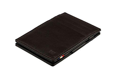 Chocolate Nappa Leather (Garzini Magic Wallet RFID Leather Essenziale Nappa Edition (Chocolate Brown))