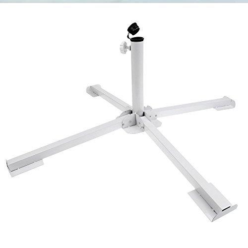 MILIMOLI DIYking Portable Foldable Beach Stand - Outdoor Sunshade Anchor - Adjustable Patio Umbrella Base Holder - Rust Free Umbrella Base - Tempered Iron Patio Umbrella Stand