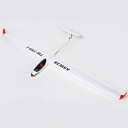 New Volantex ASW28 ASW-28 V2 Sloping 2540mm Wingspan EPO RC Sailplane Glider PNP By KTOY ()