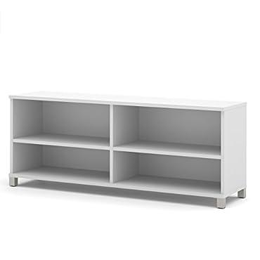 Bestar Furniture Pro-Linea Credenza (White, 120612-1117)