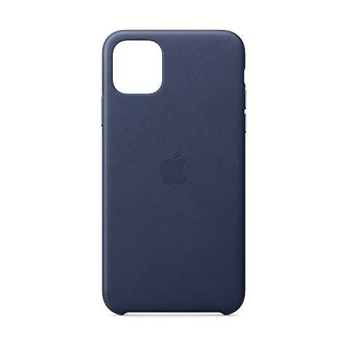 chollos oferta descuentos barato Apple Funda Leather Case para el iPhone 11 Pro MAX Azul Noche